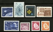 Canada   1966   Unitrade # 445-452   Complete Mint Never Hinged Year Set