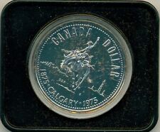 1975 CANADA CALGARY SPECIMEN DOLLAR, WITH CASE, GREAT PRICE!