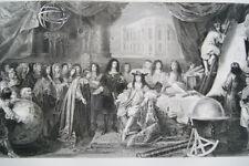 FONDATION DE L'OBSERVATOIRE LOUIS XIV SCIENCE 1669 GRAVURE 1838 COLBERT  R2114