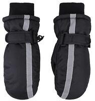 Kids Winter Warm Outdoor Ski Windproof Waterproof Ski Mittens Gloves