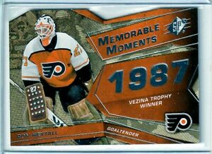 2008-09 SPx Memorable Moments #MMRH Ron Hextall - Philadelphia Flyers