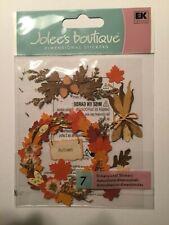SCRAPBOOKING:  Jolee's Boutique Dimensional Stickers: Autumn