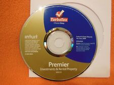 TURBOTAX 2009 PREMIER Investments & Rental Property
