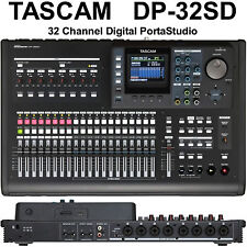TASCAM DP-32SD PORTASTUDIO Home & Live Recording Digital Mixer