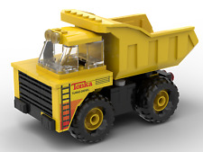 Custom LEGO Tonka Mighty Dump Truck - Instructions, decals, & pieces