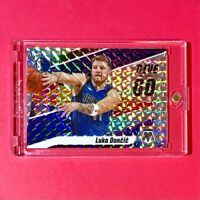 Luka Doncic SILVER PRIZM MOSAIC REFRACTOR GIVE AND GO SPECIAL INSERT CARD Mint!