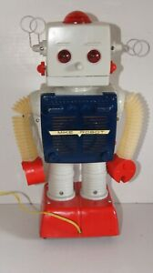 TOMY Mike-Robot Battery-powered plastic robot 1960s Old Tommy Vintage Japan