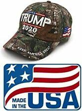 MADE IN USA -Trump 2020 MAGA  Hat Keep Make America Great Again Cap USA Camo