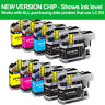 10PK LC103 XL LC103BK LC103C LC103M LC103Y High Yield Ink Cartridges For Brother