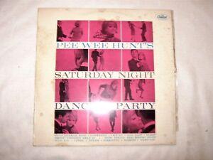 Rare 1962 Aust EMI Capitol Pee Wee Hunt's Saturday Night Dance Party Mono Album