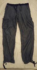 Men's H&M lightweight Blue denim style combat trousers Large