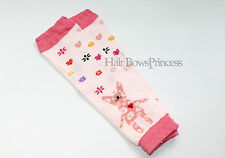 Baby Leg Warmers Toddler Girl pink flowers legging Christmas photo prop kids