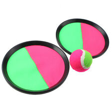 Toss And Catch Sports Game Set For Kids With Ball & Self-Stick Grip Catch Ball