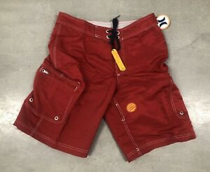 NEW HURLEY BOARDSHORTS SURF SNOW SUP SURFING MX HAWAII TRUNKS SIZE 32