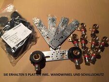 """ALPEX F50 PROFI  WANDSCHEIBEN  20x1/2"""" Inkl. Schall/und Montageschiene"""