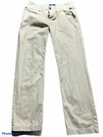 american eagle outfitters mens khaki tan original straight pants 30 x 32
