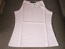 Miss Posh High Neck Ladies Vest Size:10 (UK)S Colour Pink New With Tags SALE