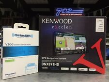 KENWOOD DNX891HD + SIRIUS SXV200V1 TUNER + AUTHORIZED DEALER = SMART BUY