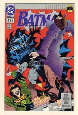 Batman #492 Platinum - Mad Hatter - 1993 Signed by Norm Breyfogle (Grade 8.5) WH