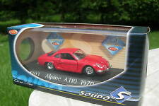 SOLIDO 1/43 METAL RENAULT ALPINE A110 1970 Rouge 1803!!