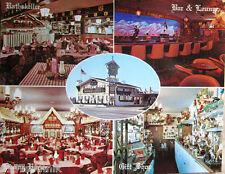 Alpine Village Inn Las Vegas German restaurant Postcard Oktoberfest oversize  z4