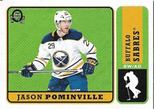 Jason Pominville #184 - 2018-19 O-Pee-Chee - Base Retro