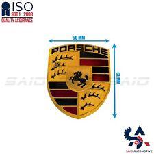 1 x Metal Sticker Porsche Design Badge Emblem Universal Car Motorcycle | Saio