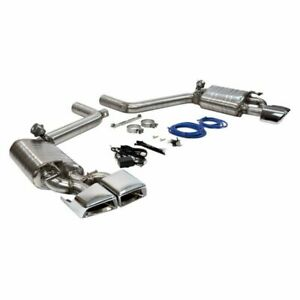Mercedes-Benz E63 AMG Sports Sound Direct Fit Valved Stainless Exhaust Mufflers