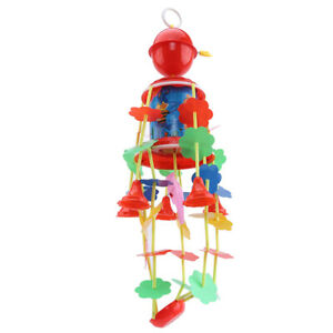Animal Wind Chimes Rattle Bed Bell Rabbit Plush Baby Toy R
