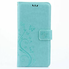 Flip PU Leather Card Slot Case Magnetic Closure Stand Cover Book Wallet Colorful