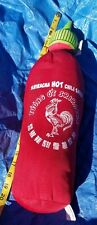 "SRIRACHA PLUSH! MEDIUM SOFT STUFFED TOY CHILI BOTTLE ROOSTER HOT SAUCE 19"" NWT"