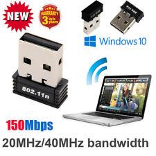 1 Pcs Wireless Adapter 150Mbps Mini USB WiFi 802.11n/g 150M Network Lan Card US