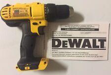 """NEW DeWALT DCD771 DCD771B 20V 20 Volt 1/2"""" Compact Li-Ion 2 Speed Drill Driver"""