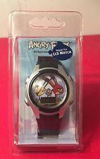 NEW Angry Birds Feelin Fly LCD watch NIP Retail $23.99 Battery Is Dead