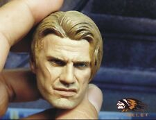 BELET BT008 1/6 death squads Dolph lundgren male head sculpt For HT.DAM body