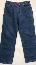 Jeanbay Women's Jeans 10P Relaxed Embroidered Triangle Flap Pocket