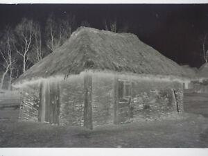 originales Negativ Jüdisches Haus Russland Juden Judaika 6x9cm