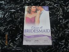 MILLS & BOON ONCE A BRIDESMAID 3 IN 1 LIKE NEW 2018