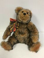 "BEAVER VALLEY Bear Handmade / Signed by Kaylee Nilan 1992 RARE 32/50 16"""