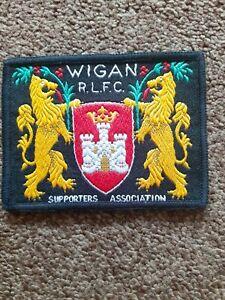Wigan RLFC Supporters Association  Vintage Patch 9x7cm