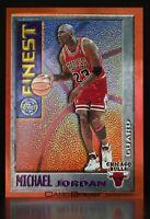 1995-96 Topps Finest Mystery #M1 Michael Jordan Orange Boarder Pristine Card