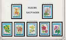 VIETNAM N°485/491** FLEURS SAUVAGES 1984, Vietnam  #1370-1376 WILD FLOWERS MNH