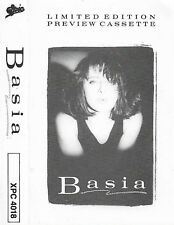 BASIA LIMITED EDITION PREVIEW CASSETTE PROMO PRIME TIME TV TIME & TIDE NEW DAY