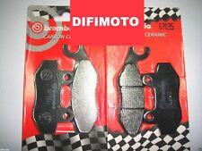 4 PASTILLAS DE FRENO DELANTERO BREMBO CARBONO CERAMIC 07033+07035 KYMCO G3 400
