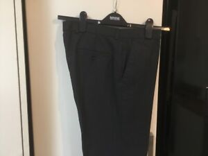MENS TROUSERS. TU 34 X 29 IN EXCELLENT CONDITION DARK GREY