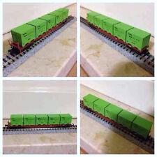 Ferromodellismo dinamico: vagone porta conteners Kato