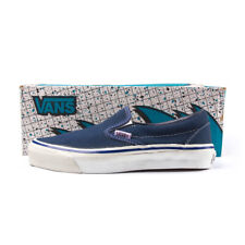 569eadf028 VANS vintage USA made slip-on style 98 size 7 NAVY FOXING DEADSTOCK NOS