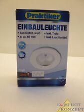 5er Set Einbauleuchte Halogen Einbaustrahler Leuchte 20W Weiß inkl. *49,99€