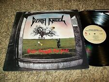 "Thrash Metal LP DEATH ANGEL ""Frolic Through The Park"" Original 1988 LP!"