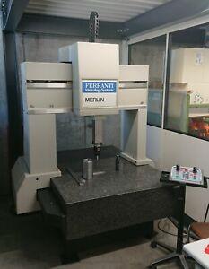 Gebrauchte Messmaschine Ferranti Merlin 750 Koordinatenmessmaschine Renishaw
